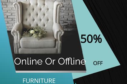 Membeli Furniture Secara Online, Apasih Istimewanya, Dibanding Membeli Secara Offline?