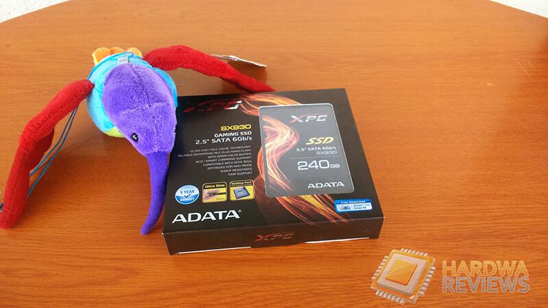 ADATA SX930 XPG SSD 240GB Empaque frontal