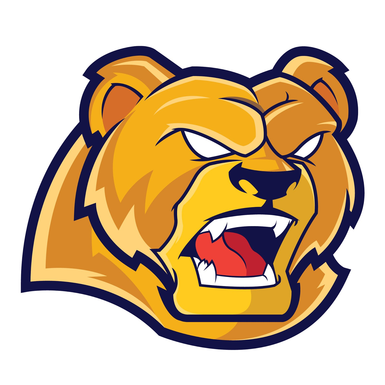 Grizzlies Sports Logo Free Download Vector CDR, AI, EPS and PNG Formats