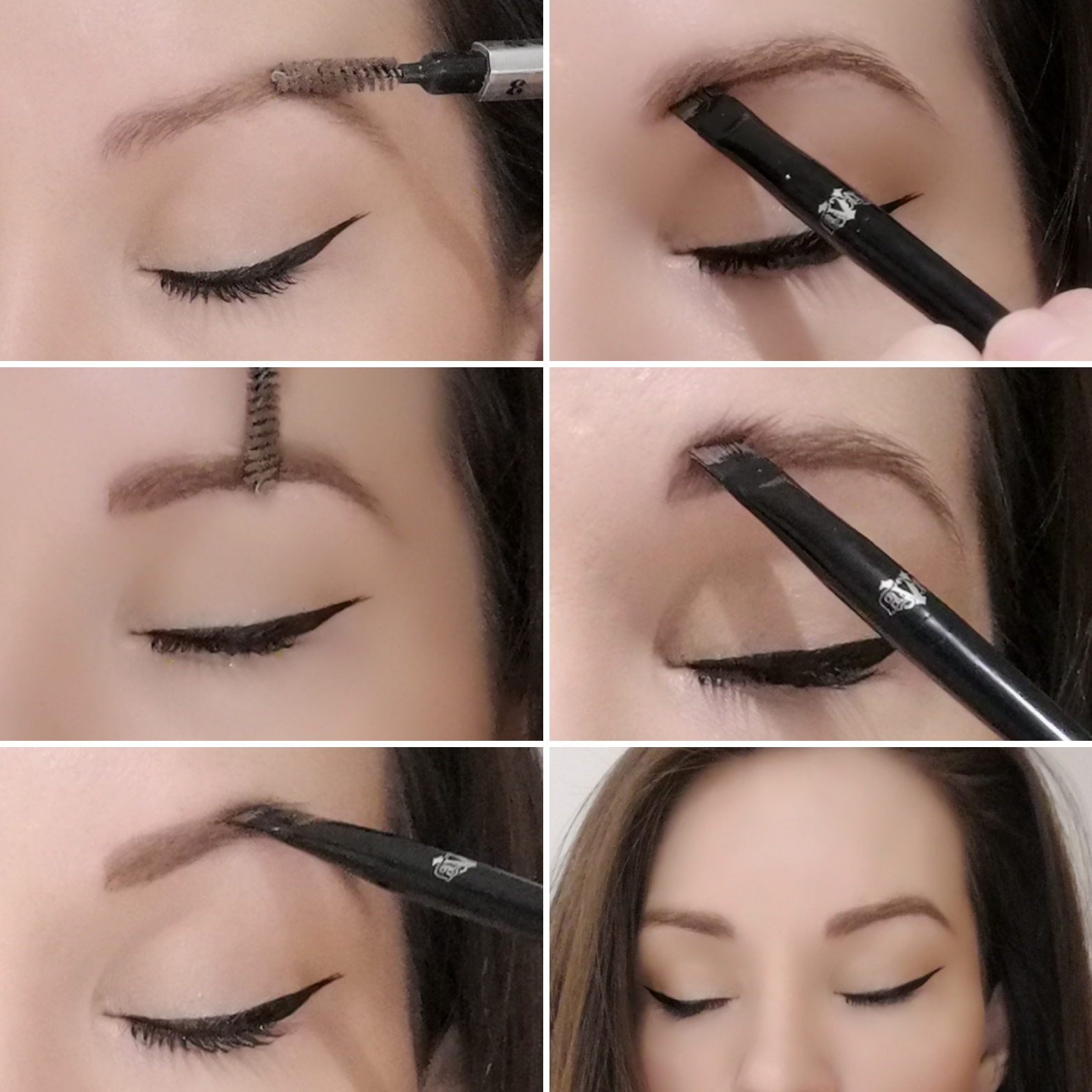 Kat Von D 24-Hour Super Brow Long-Wear Pomade How To Tutorial