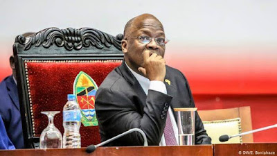 President Magufuli photo in a confused state over Travel advisory against US citizens
