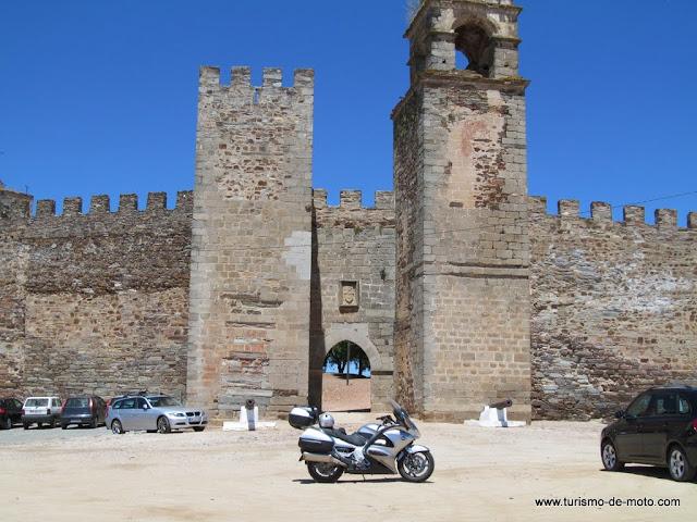 Barrancos, Alentejo, Beja, Castelo de Mourão