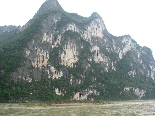 The Painted Hill of Nine Horses on the Li River