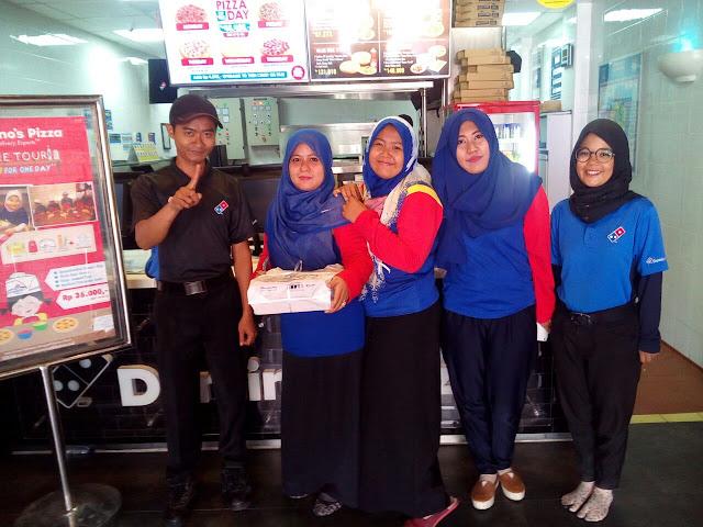 Domino's Pizza ajak anak - anak belajar Bikin Pizza