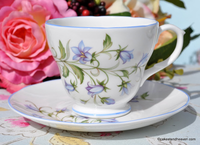 Royal Burlington Harebell Pattern Teacup and Saucer