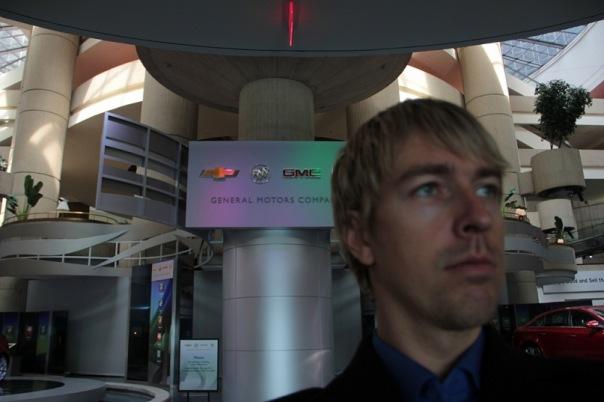 Alex Lesli Visit General Motors, Alex Lesley