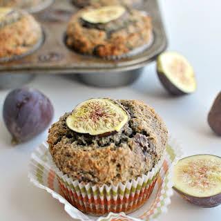 Gluten Free Fig Muffins.