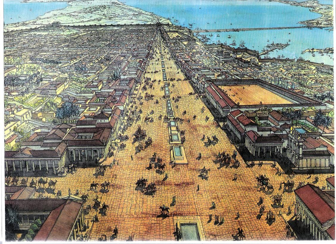 greek history and prehistory the arab siege of byzantine alexandria