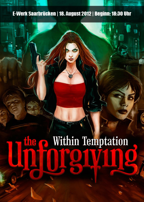 Within Temptation - The Unforgiving European Tour 2012