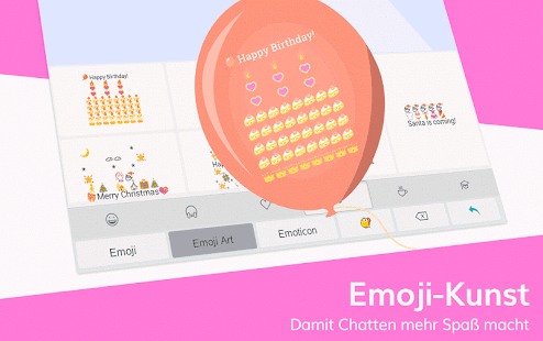 TouchPal Tastatur - Emoji, sticker, gif & Themen Screenshot