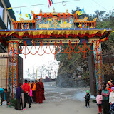 2015年11月17日仁波切於智慧林閉關後回到拉瓦 噶舉德千林寺