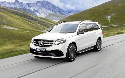 Mercedes is working on a more luxurious replacement for the current GLS.    Picture: NEWSPRESS UK