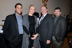 Jorge Piedra; Vanessa Swarovski-Piedra; Tom Brymer, Town Manager, Westlake and CEO, Westlake Academy, Stacy Stoyanoff Photos taken by Kristina Bowman