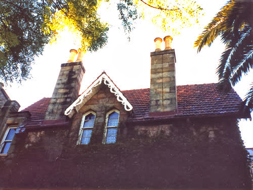 """Nugal Hall"" prior to having a new slate roof fitted by All-Dry Roofing"