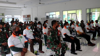 Babinsa dan Petani Karawang di Latih  Ketahanan Pangan Jawa Barat 2021