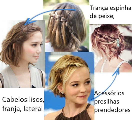 Da pra fazer trança em cabelo curto?