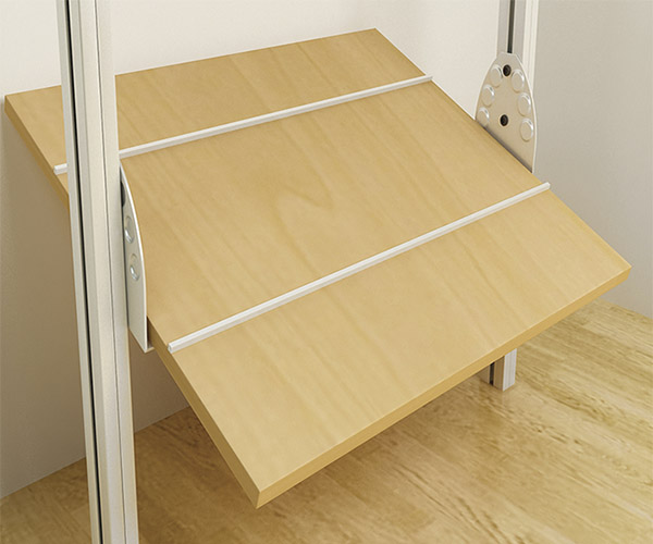 Closets y vestidores de lujo closets de madera closets for Medidas de zapateras de madera