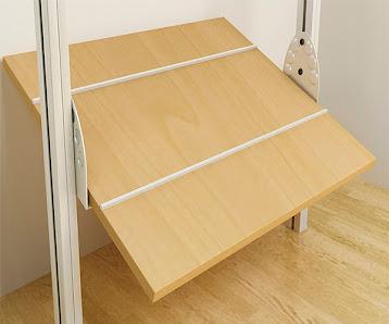 Closets y vestidores de lujo closets de madera closets for Zapatera de aluminio