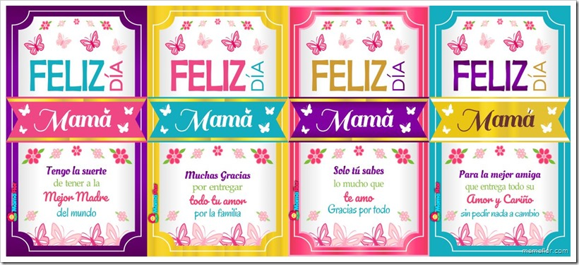 Imprimibles: Etiquetas de Vino para el Día de la Madre