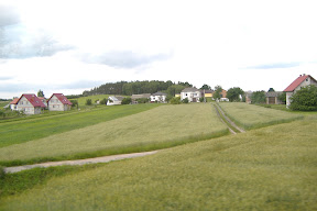 Typical Polish countryside.
