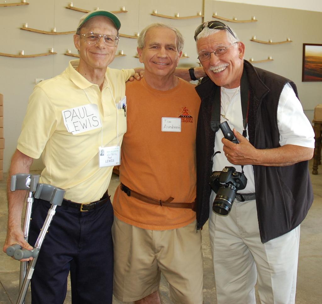 Paul Lewis, Tim Avedovech, Bob Hodgson