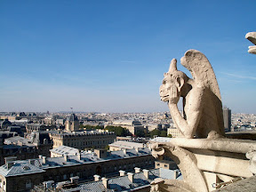 Stryga overlooking Paris