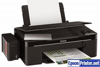 How to reset Epson T1100 printer