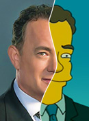 Celebrities As Simpsons Characters