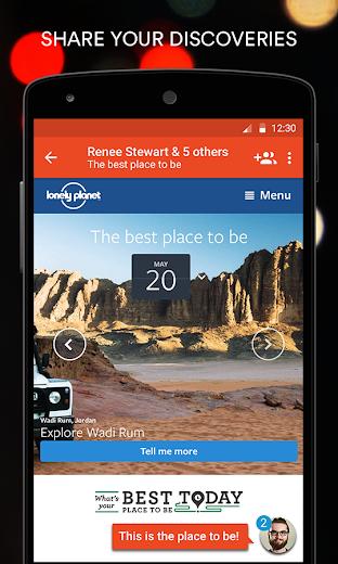 Screenshot 2 for StumbleUpon's Android app'
