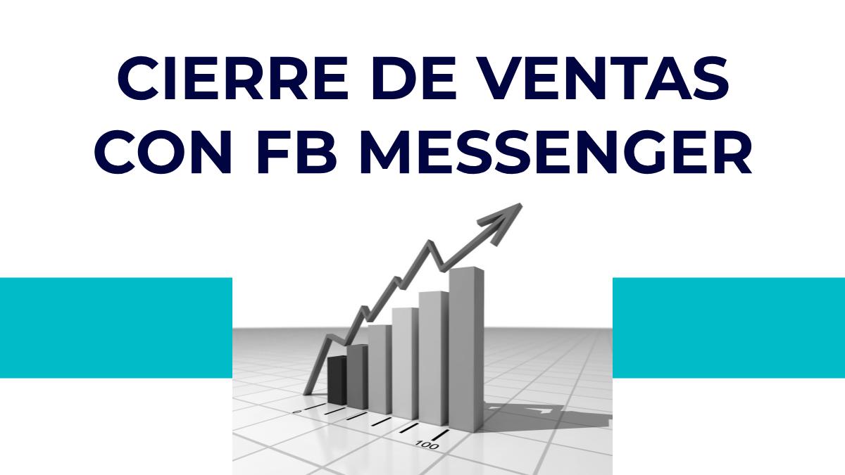 vender desde facebook messenger