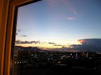Evening over Juarez/El Paso from Hotel Ibis.