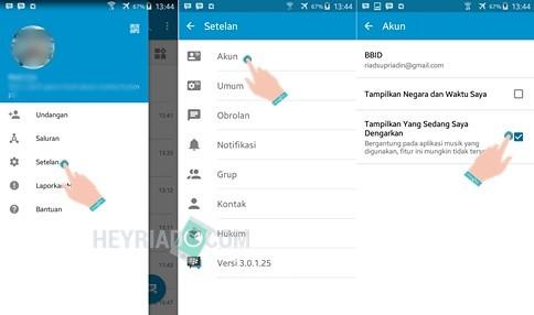 Cara Mengatasi Musik Tidak Muncul di Status BBM Android 7 Cara Mengatasi Musik Tidak Muncul di Status BBM Android