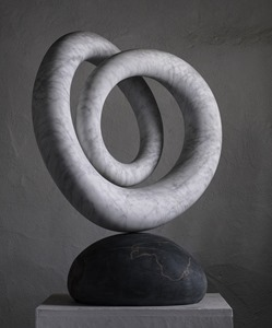 Timolin: ITALIAN MARBLE, 2017: W 65cm, H 75 cm, D 23 cm; currently being exhibited www.jmlondon.com