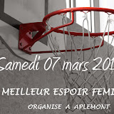 Meilleur Espoir Féminin 2015 Aplemont