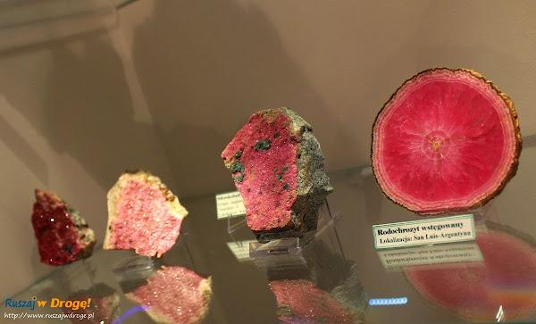 Muzeum Minerałów w Świętej Katarzynie - kamień rodochrozyt