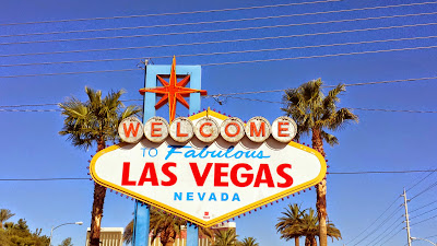 The Welcome to Fabulous Las Vegas Nevada sign located on the South end of the Strip
