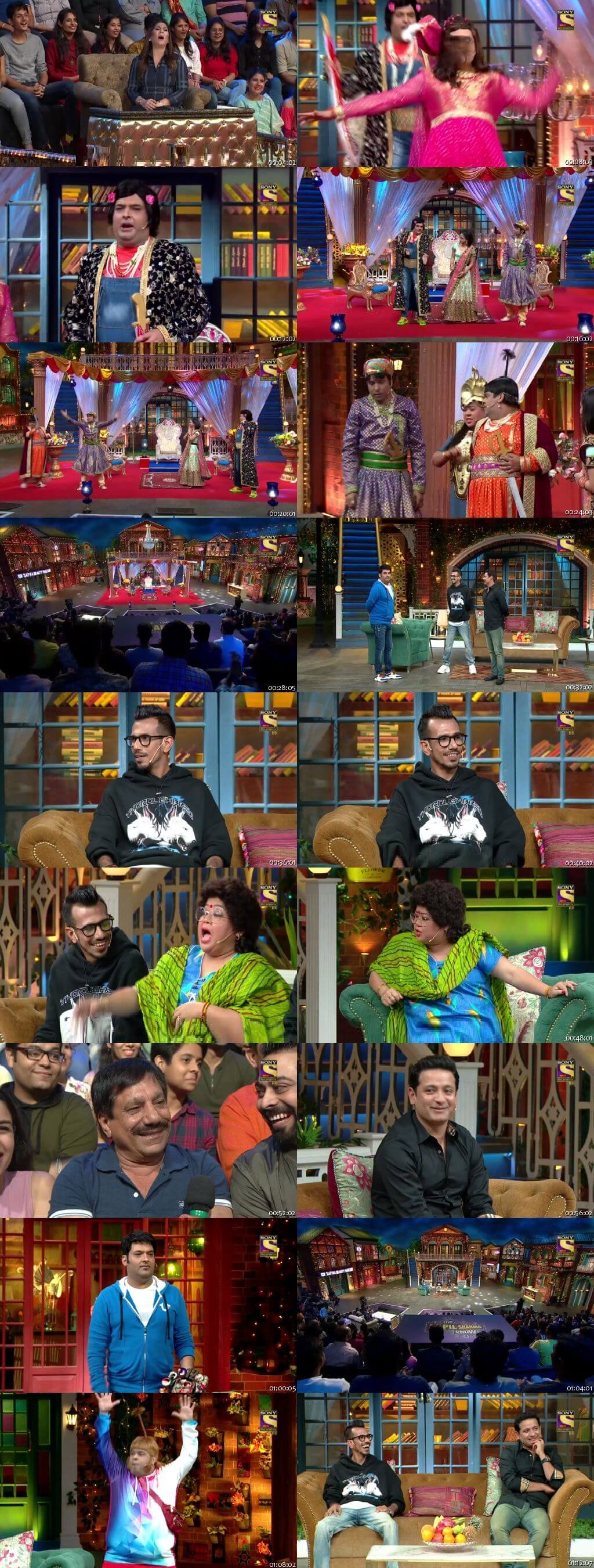 Screen Shot Of The Kapil Sharma Show 12th January 2020 Season 02 Episode 107 300MB Watch Online
