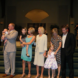 Waldron Baby Dedication - August 23, 2009