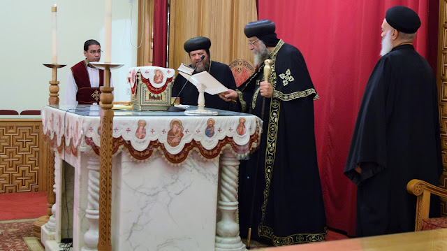 His Holiness Pope Tawadros II visit to St. Mark LA - DSC_0156.JPG
