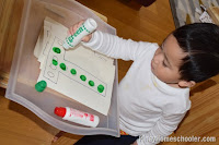 Crazy Over Do-a-Dot Markers and {Learn & Play Link Up}