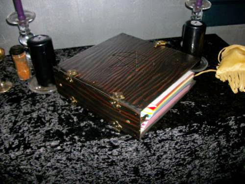 My Latest Project A Wooden Locking Spellbook