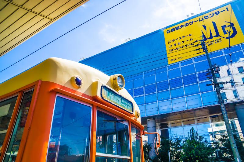 松山 路面電車 2