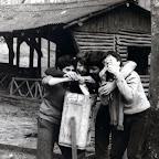 1985_04_13-012 Belgrat Ormanı Yemek Pişirme Tatbikatı - Kemal, Derya, Yılmaz, Durul.jpg