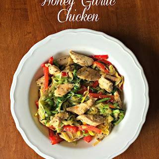 Honey Garlic Chicken Strips Recipes