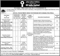 Oil-India-Limited-Special-Recruitment-2016-www.indgovtjobs.in