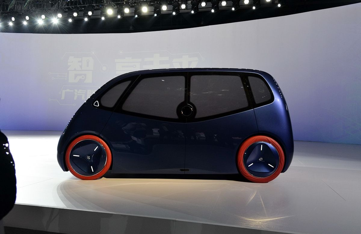 2 Door Car >> GAC - iSpace Concept / 广汽iSPACE概念车