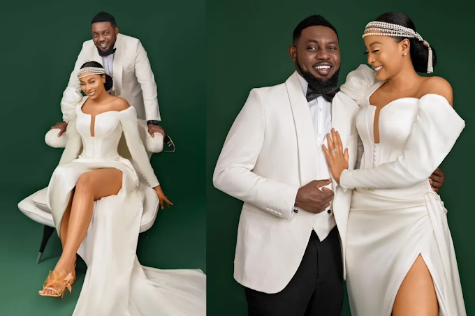 Comedian AY And Wife, Mabel Celebrate 12th Wedding Anniversary (Photos)