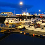 Reykjavik Harbor in Reykjavik, Hofuoborgarsvaeoi, Iceland