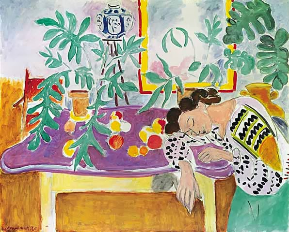 Henri Matisse - Still Life with Sleeping Woman