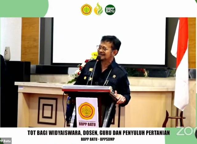 Tingkatkan Kapasitas SDM, BPPSDMP Gelar ToT bagi Widyaiswara, Dosen, Guru dan Penyuluh Pertanian